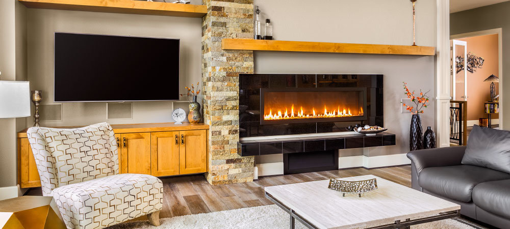 Kingsman fireplaces add ambience to any room! Call Fitch Specialties today!