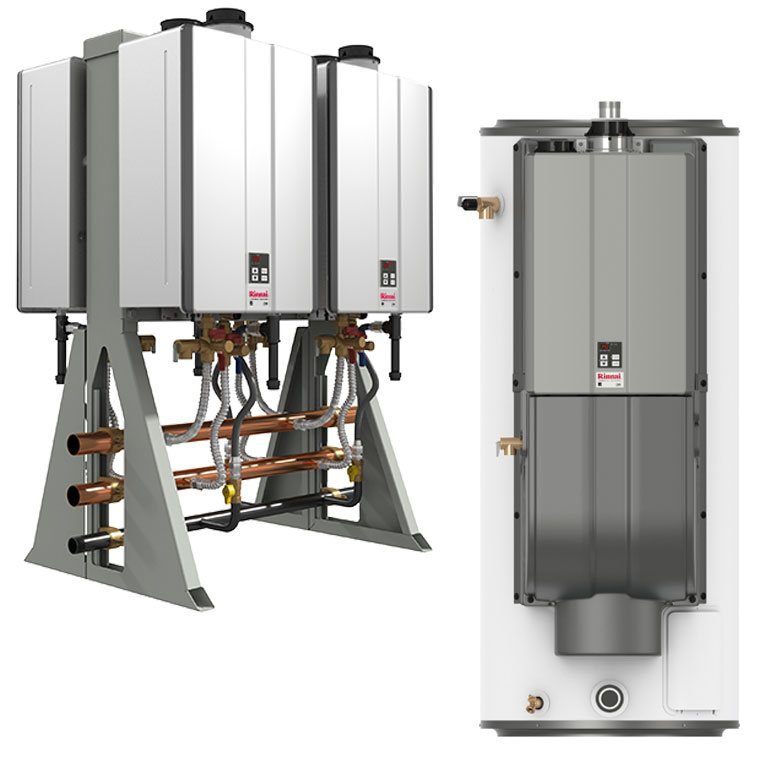 Rinnai Commercial Water Heating Systems.