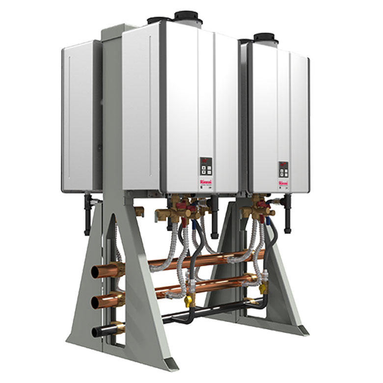 Rinnai Tankless Rack Systems are incredibly efficient and reliable! Get yours today!