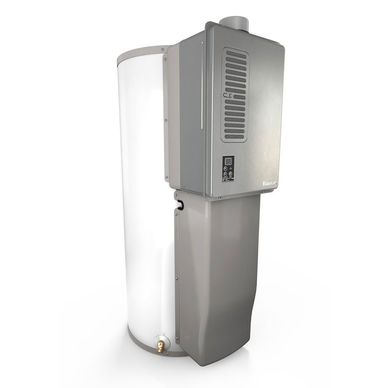 Rinnai Hybrid Tank-Tankless Water Heating Systems